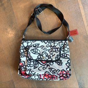 COACH • Floral Poppy Crossbody Bag